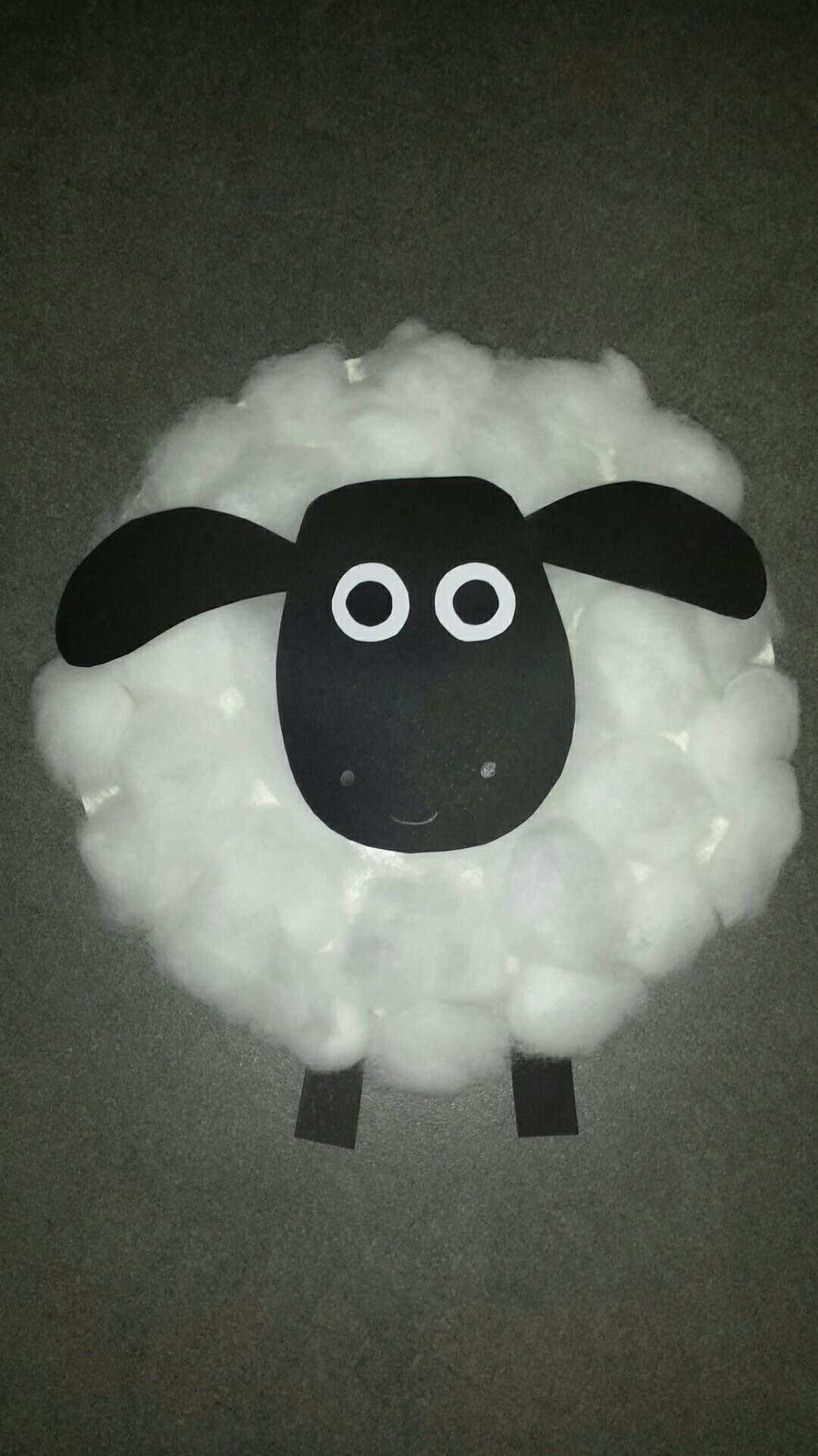 Pappteller Schaf Timmy Shawn Das Schaf Mit Watte Schafe Basteln Basteln Fruhling Kindergarten Basteln Ideen Ostern