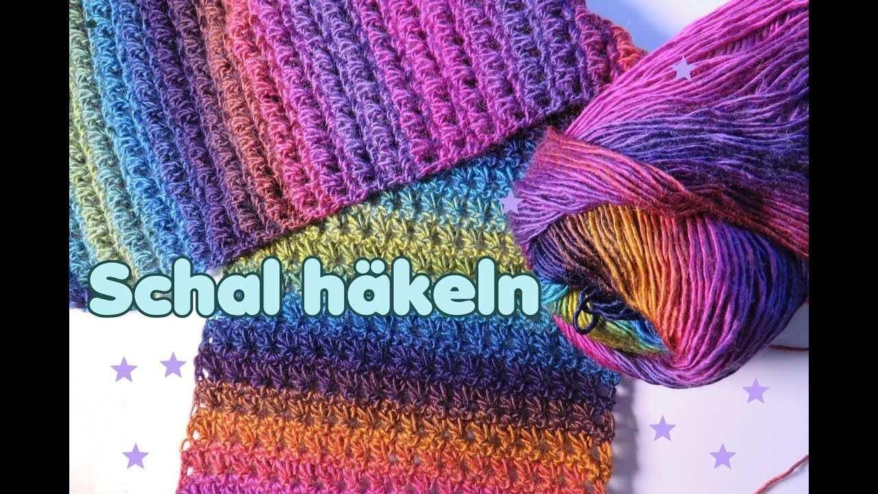 Einfachen Schal Hakeln Mit Dreiecksmuster Schal Hakeln Schal Hakeln Anleitung Tunesisch Hakeln Anleitung