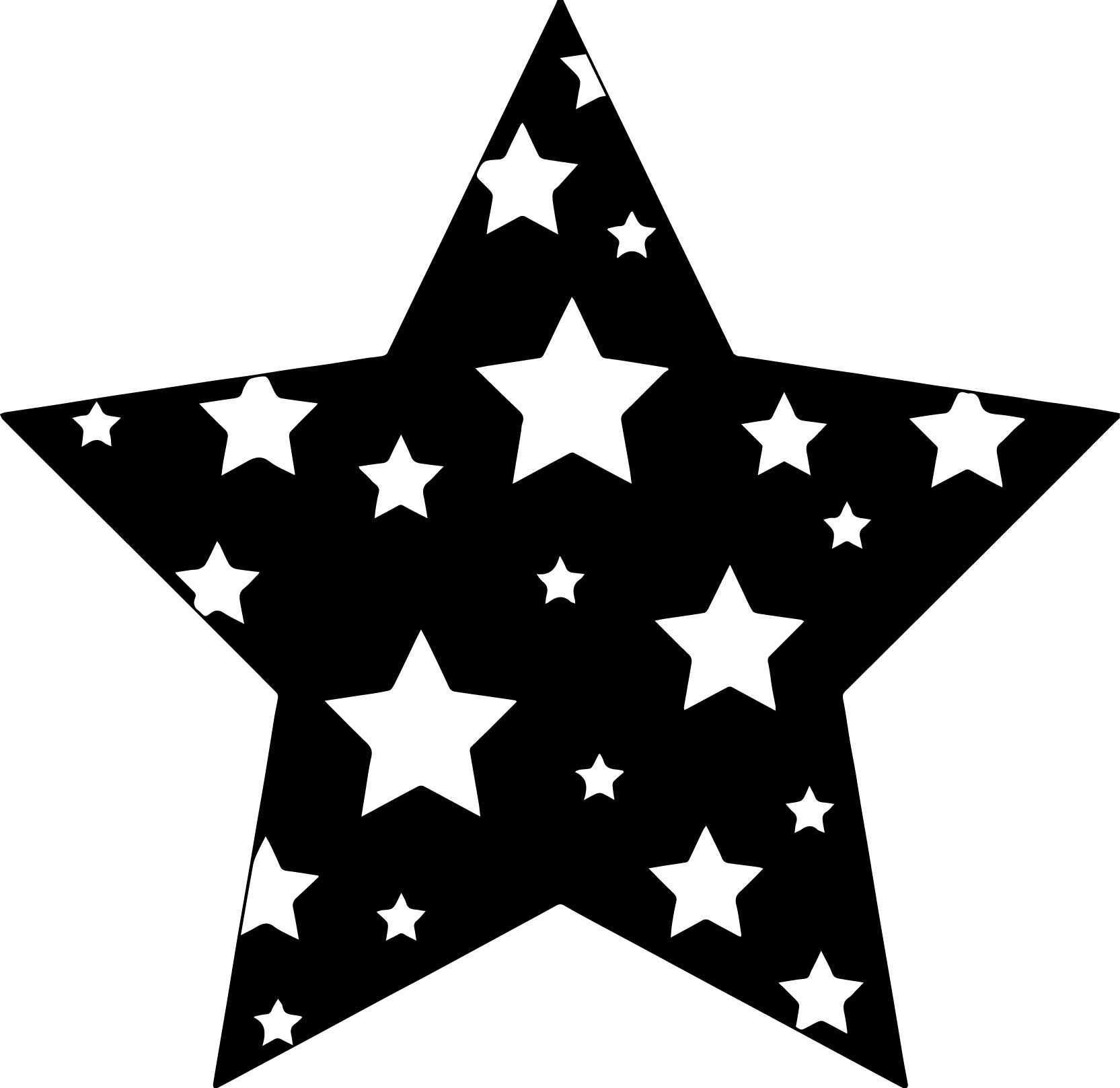 Nice Black Background Stars Coloring Page Star Coloring Pages Shooting Star Drawing Star Art