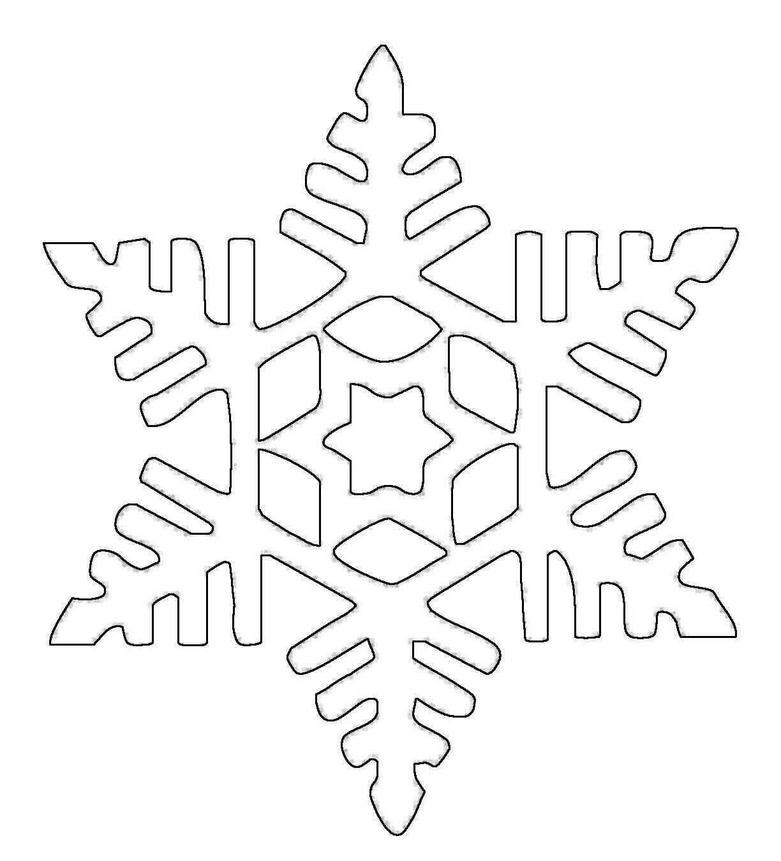Ausmalbild Schneeflocken Und Sterne Schneeflocke 17 Kostenlos Ausdrucken Schneeflocke Schablone Schneeflocke Vorlage Schneeflocken Basteln Vorlage