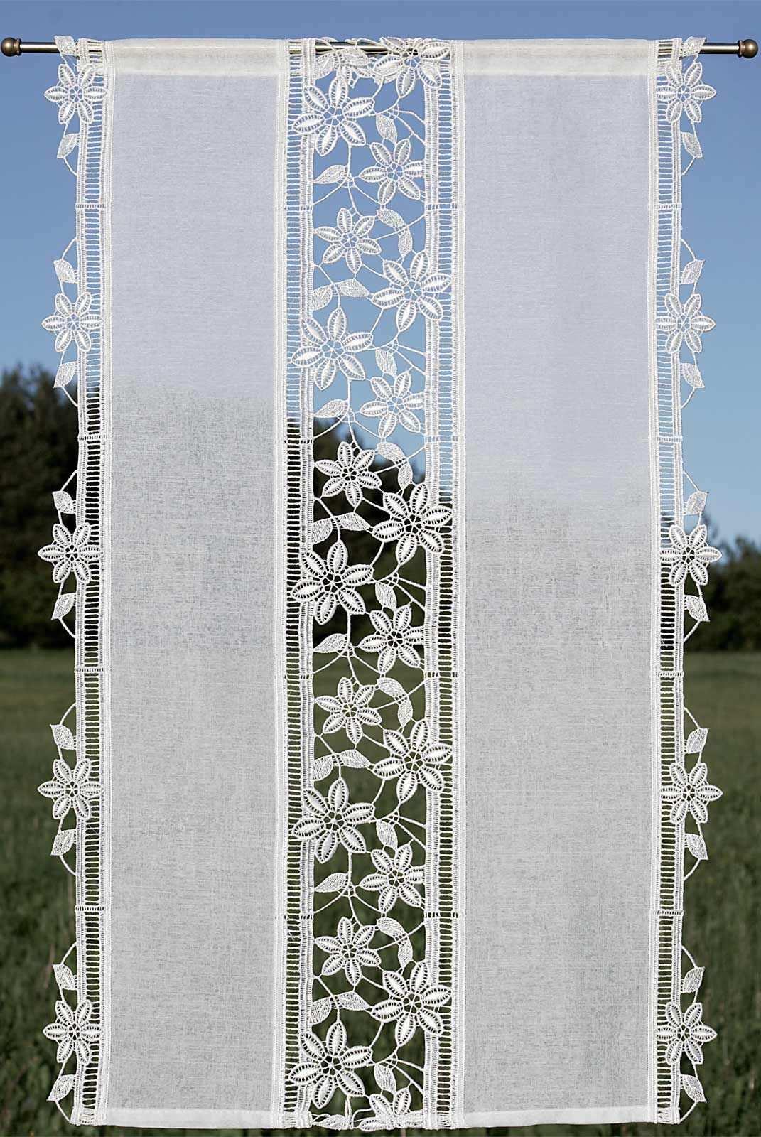 Flachenvorhange Modern Gunstige Schiebegardinen Plauener Spitze Preiswert Online Kaufen Vorhange Plauener Spitze Flachenvorhang