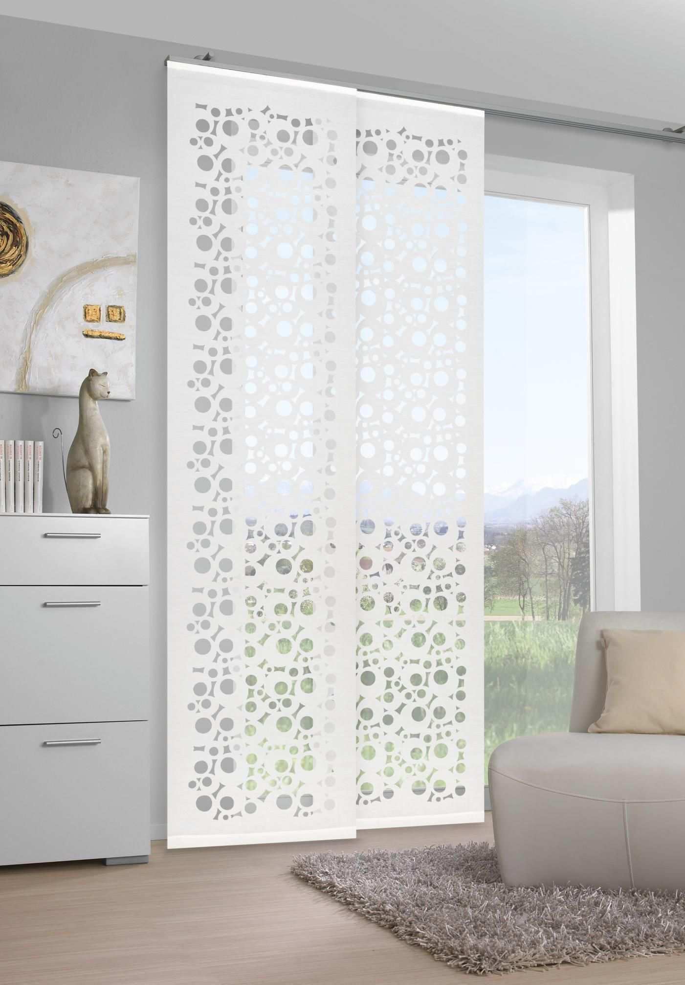 Vorhang In Weiss Von Venda Ausgefallenes Design Fur Ihr Wohnzimmer Vorhange Wohnzimmer Vorhange Vorhange Ideen