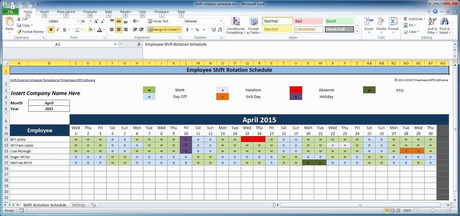 Rotating Weekend Schedule Template Best Of Free Employee And Shift Schedule Templates Weekly Schedule Template Excel Schedule Template Schedule Templates
