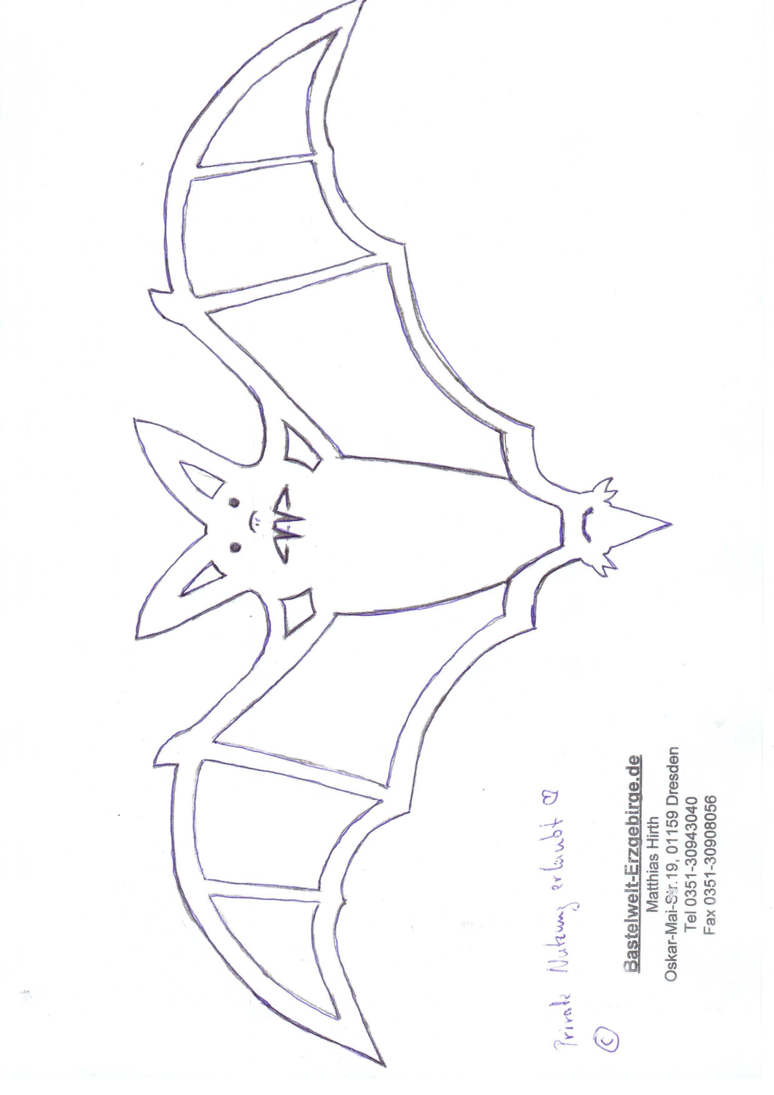 Kostenlose Laubsagevorlage Teelichthalter Fledermaus Auf Kurbis Holz Basteln Kunst Vorlagen Kostenlose Vorlagen Laub