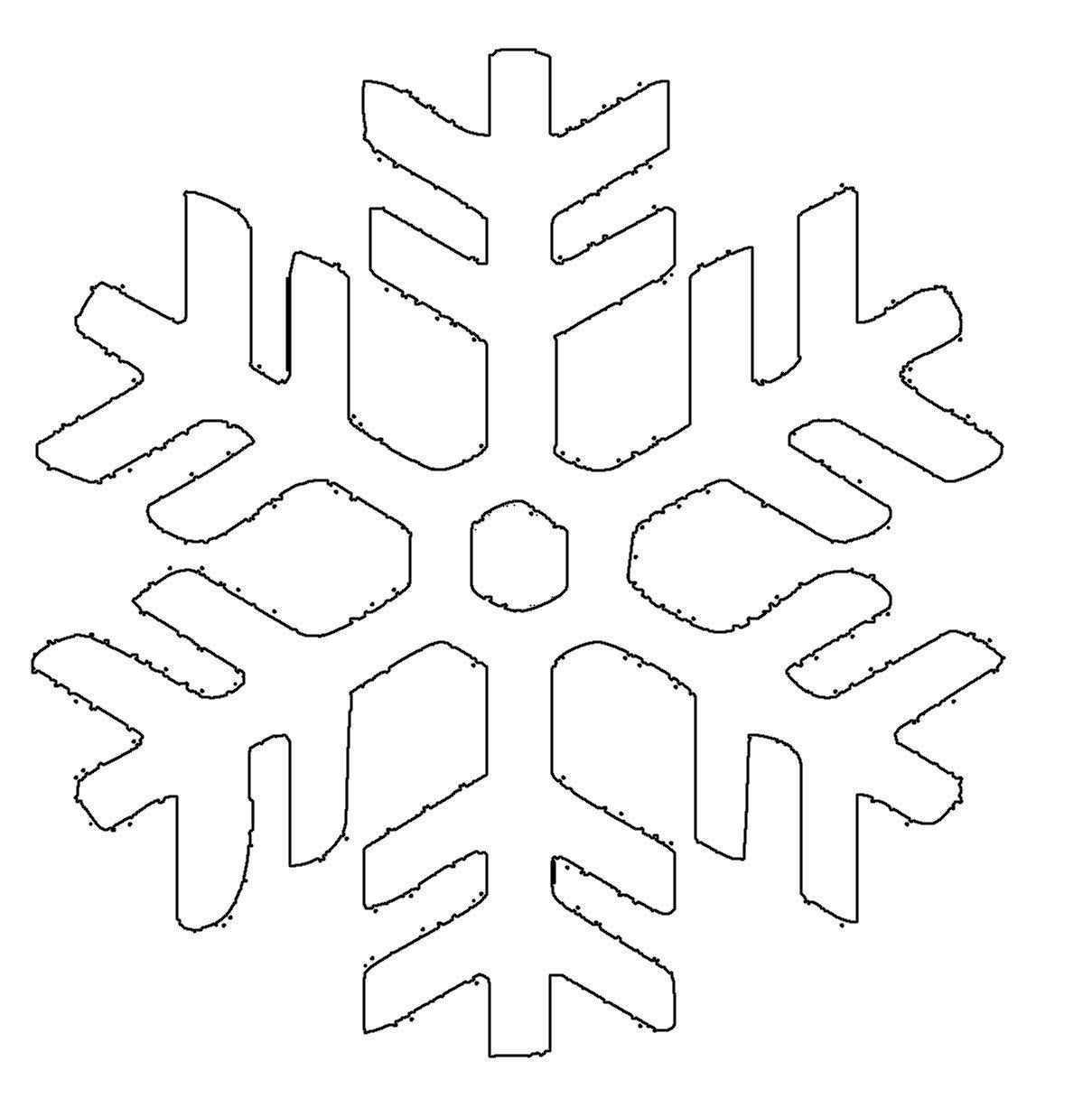 Schneeflocken Gehoren Zum Winter Einfach Dazu Lassen Sie Ihr Kind Die Schneeflocke Au Schneeflocken Basteln Vorlage Schneeflocke Vorlage Schneeflocken Basteln