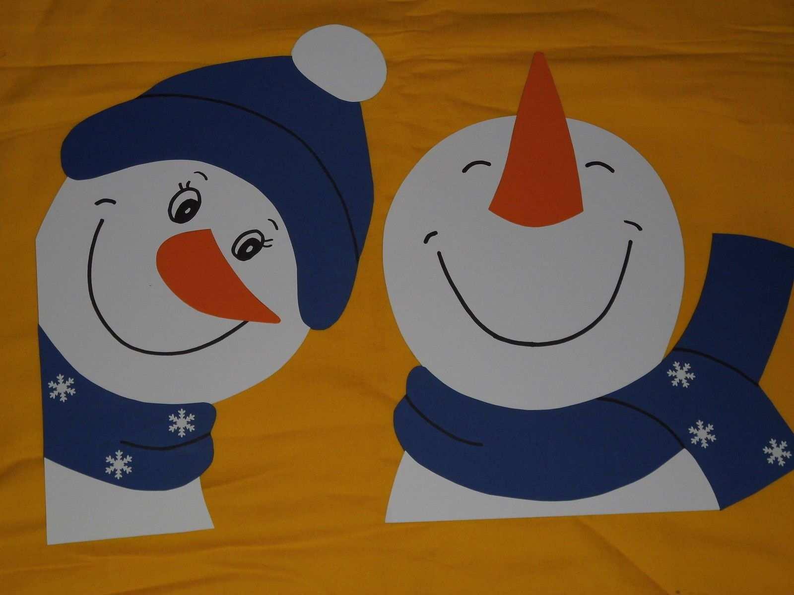Fensterbild Tonkarton Winter Fenstergucker Schneemann Flocke Set Blau Deko Neu Basteln Winter Grundschule Schneemann Basteln Fensterbild Fenstergucker