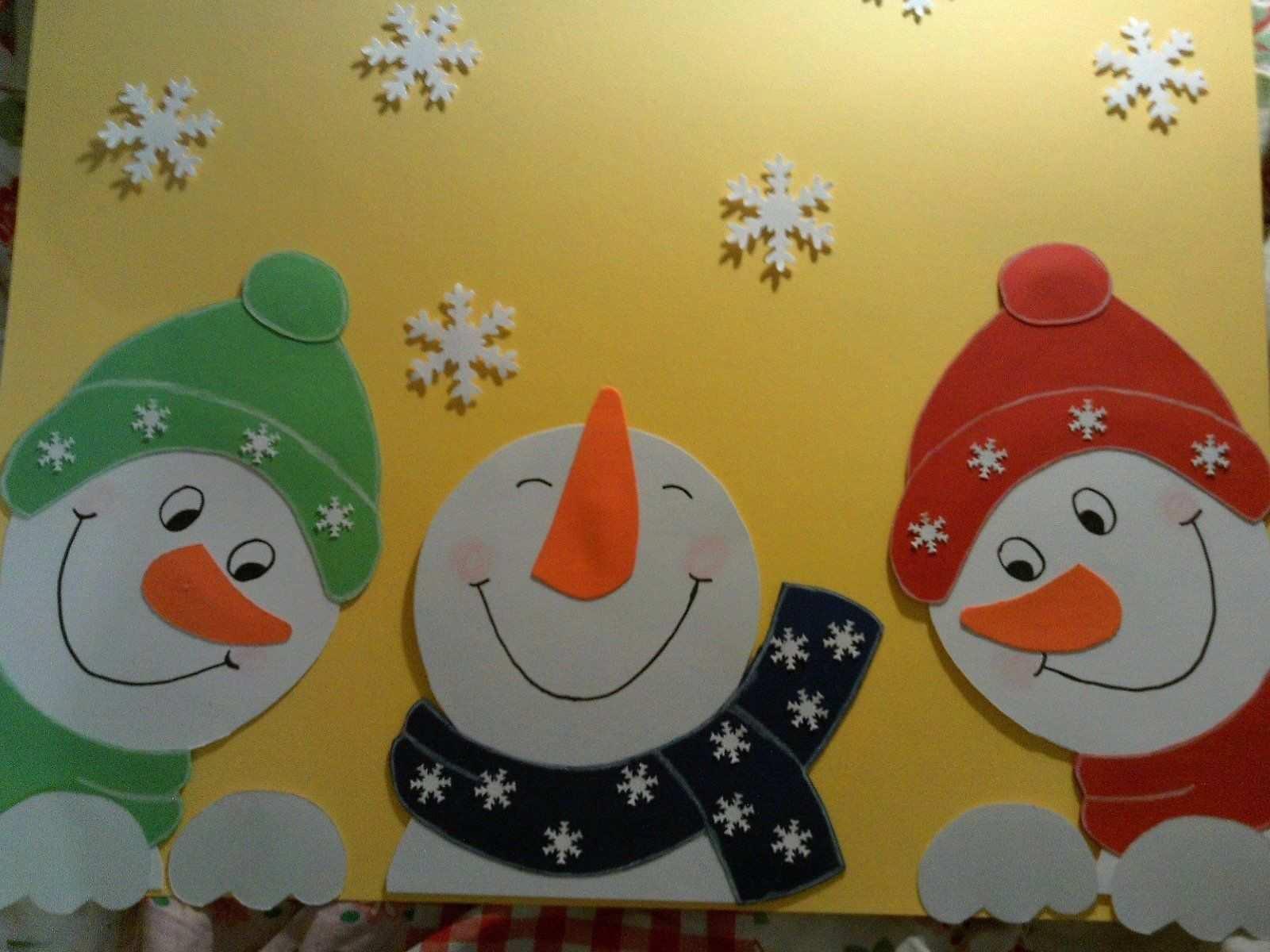 Fenstergucker Schneemanner Fensterbilder Tonkarton Eur 8 50 Pi Weihnachten Basteln Tonkarton Fensterbilder Weihnachten Basteln Schneemanner Basteln Fenster