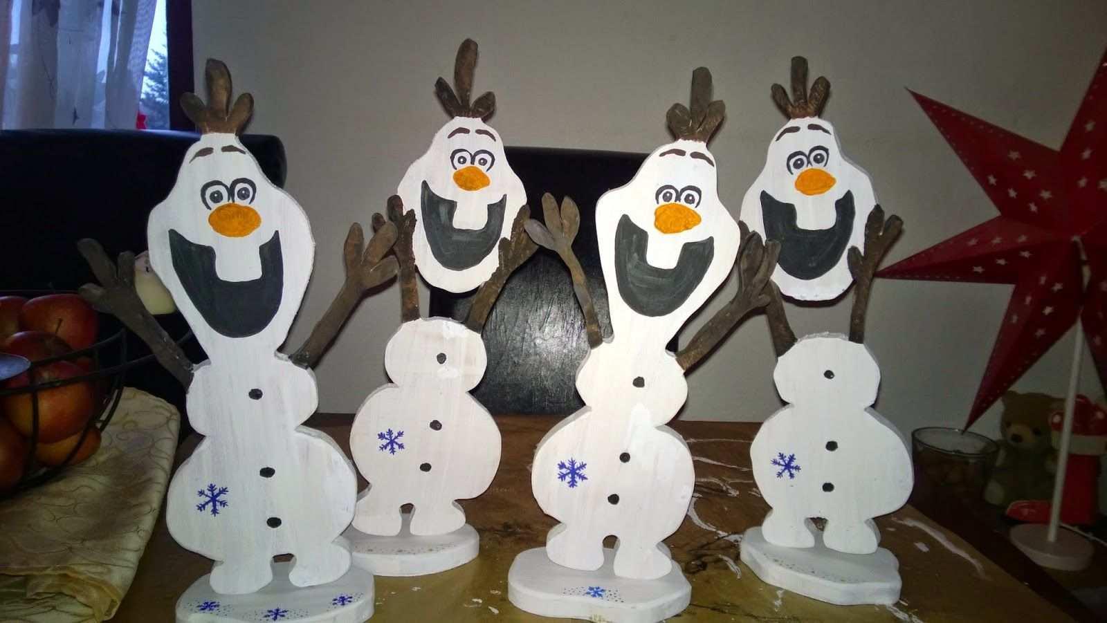 Holz Laubsage Diy Gebastelt Basteln Olaf Eiskonigin Laubsage Vorlagen Weihnachten Olaf Basteln Basteln Weihnachten