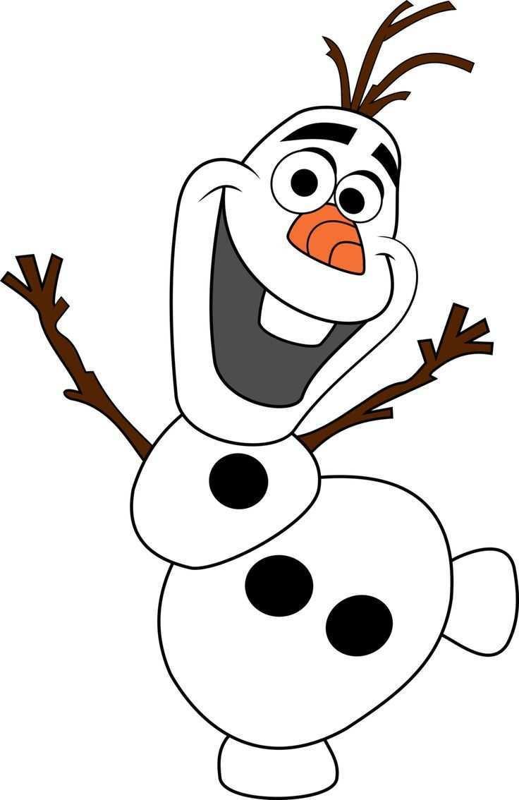 Olaf Snowman Disney Frozen Frozen Olaf Schneemann Olaf Der Schneemann Fensterbilder Weihnachten Basteln Olaf Basteln Olaf Schneemann