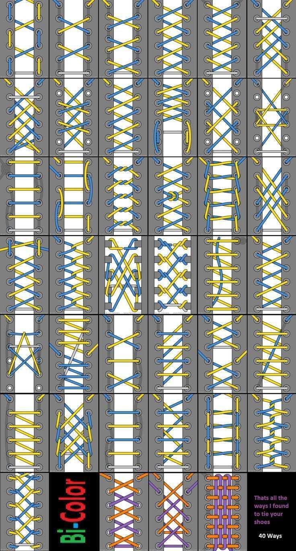 Schnursenkel Schnursenkel Binden Schnursenkel Muster Schnurstiefel