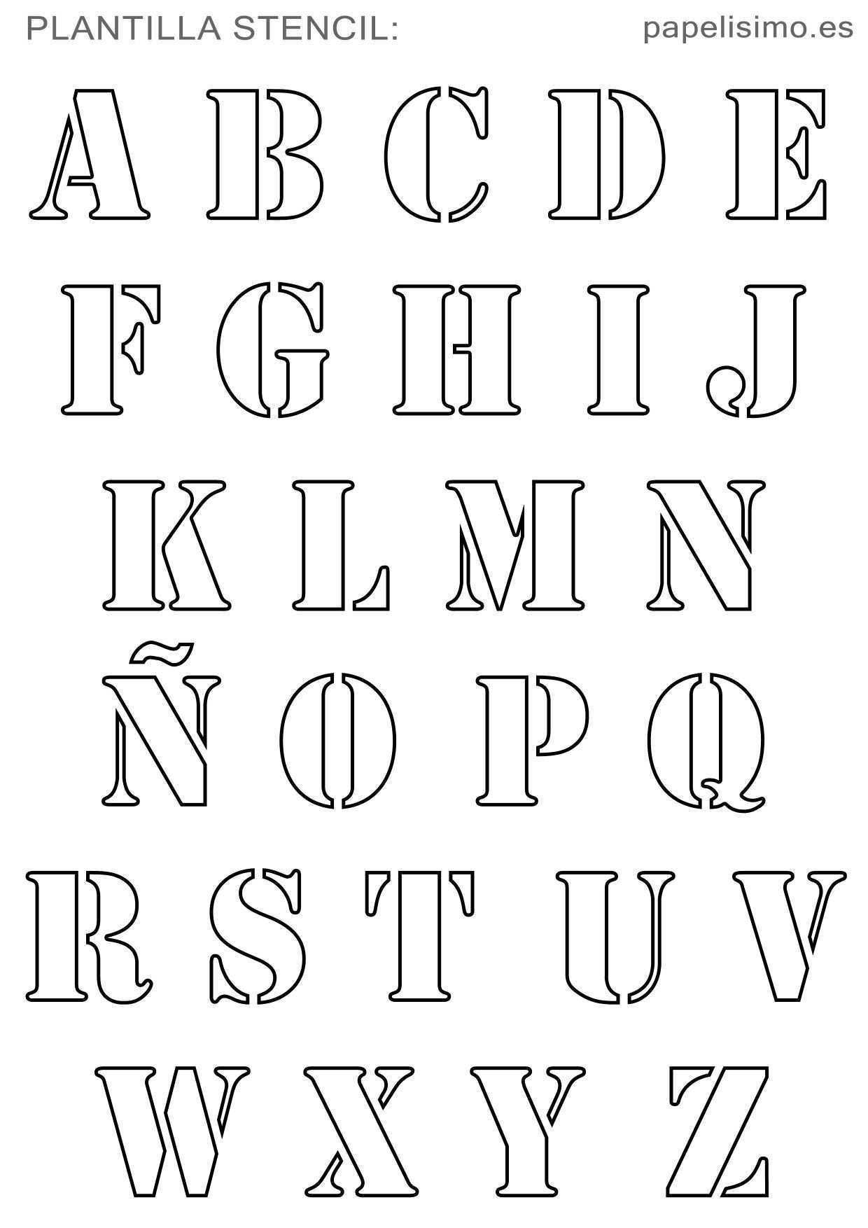 Pin Von Ester Vargas Auf Bullet Journal In 2020 Alphabet Schablonen Alphabet Schriftarten Buchstaben Vorlagen Zum Ausdrucken