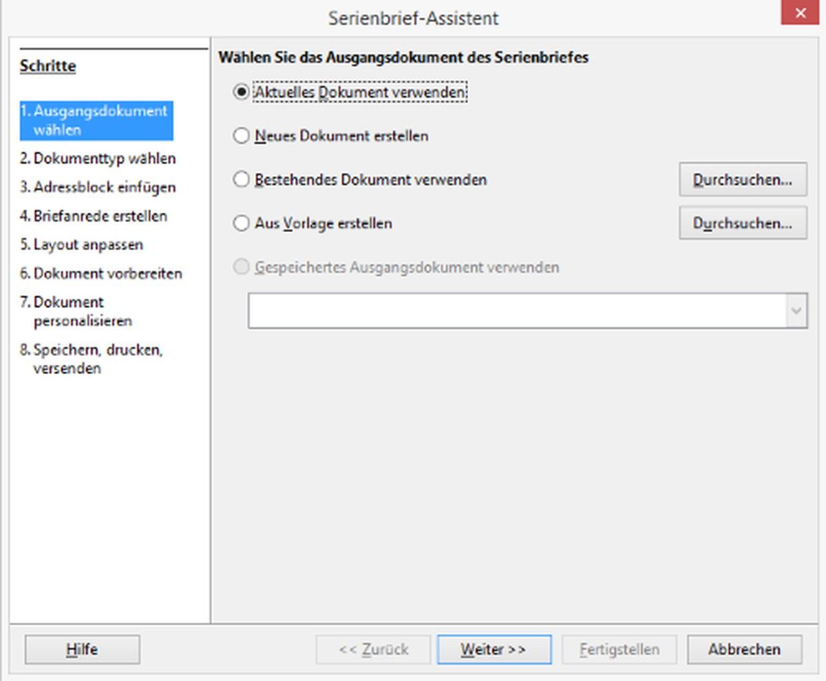Serienbrief Mit Libreoffice Erstellen So Geht S Chip