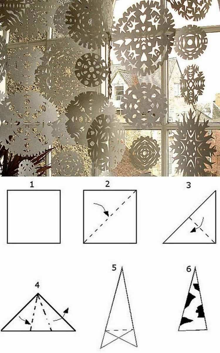 Weihnachtsdeko Fur Fenster Basteln 20 Ideen Und Beispiele Schneeflocken Basteln Weihnachtsdeko Fenster Basteln Weihnachtsstern Basteln