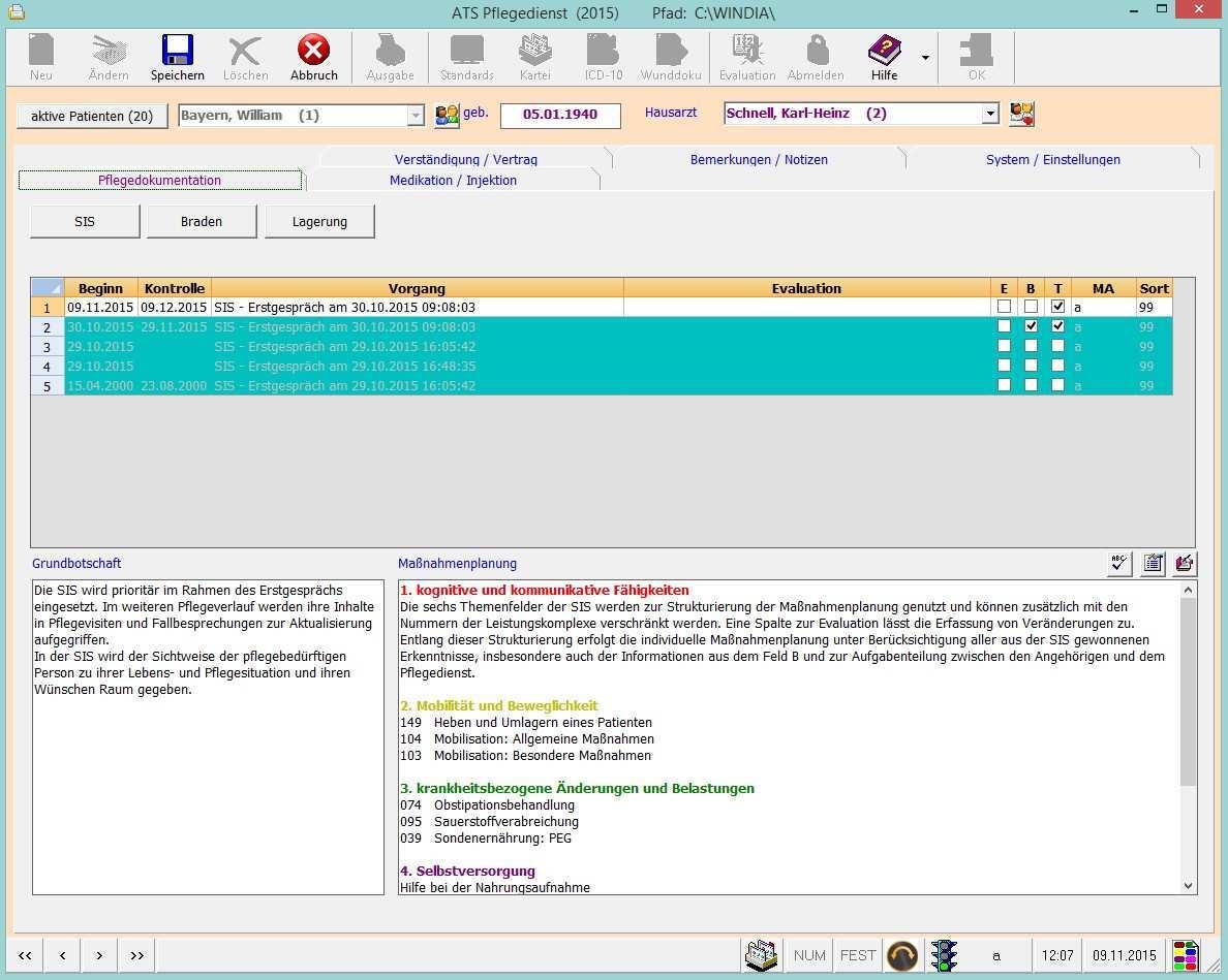 Ats Computersysteme Gmbhwindia Pflegeplanung