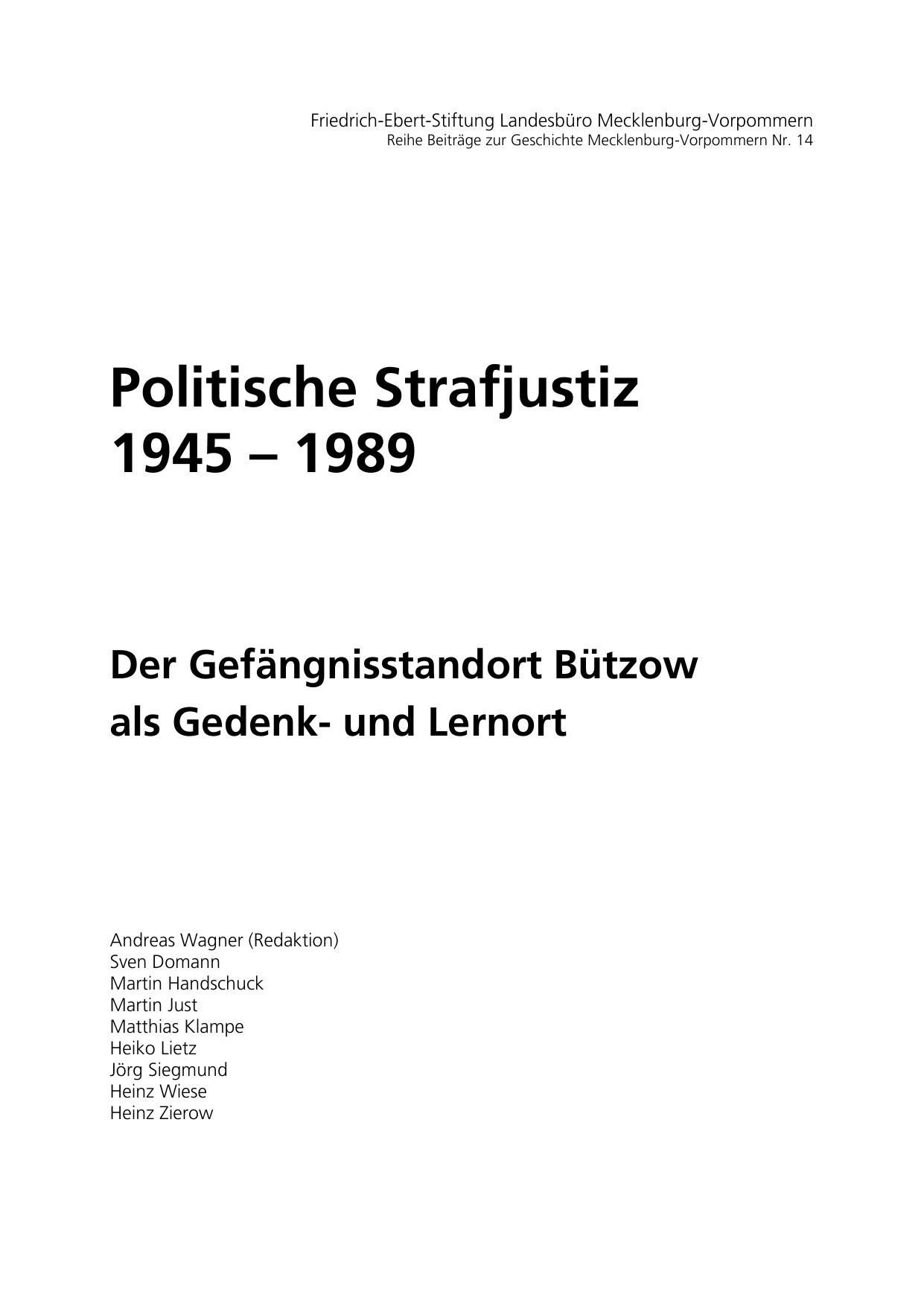 Konzeption Broschure Der Friedrich Ebert Stiftung