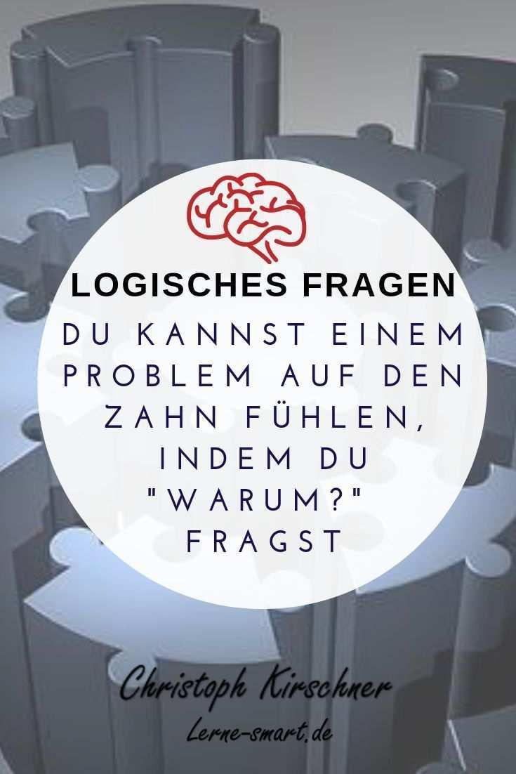 Logische Fragen Eine Lernmethode Lerne Smart Lernmethoden Lernen Effektiv Lernen
