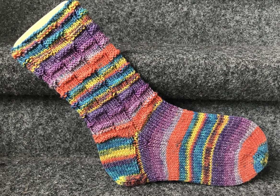Vickys Pausenbrot Muster Sockenstrickvicky Socken Stricken Muster Stricken Anfanger Sockenmuster Stricken