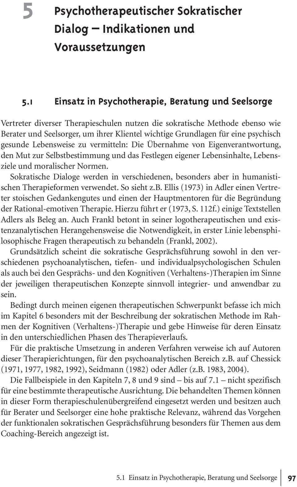 5 Psychotherapeutischer Sokratischer Dialog Indikationen Und Voraussetzungen Pdf Free Download