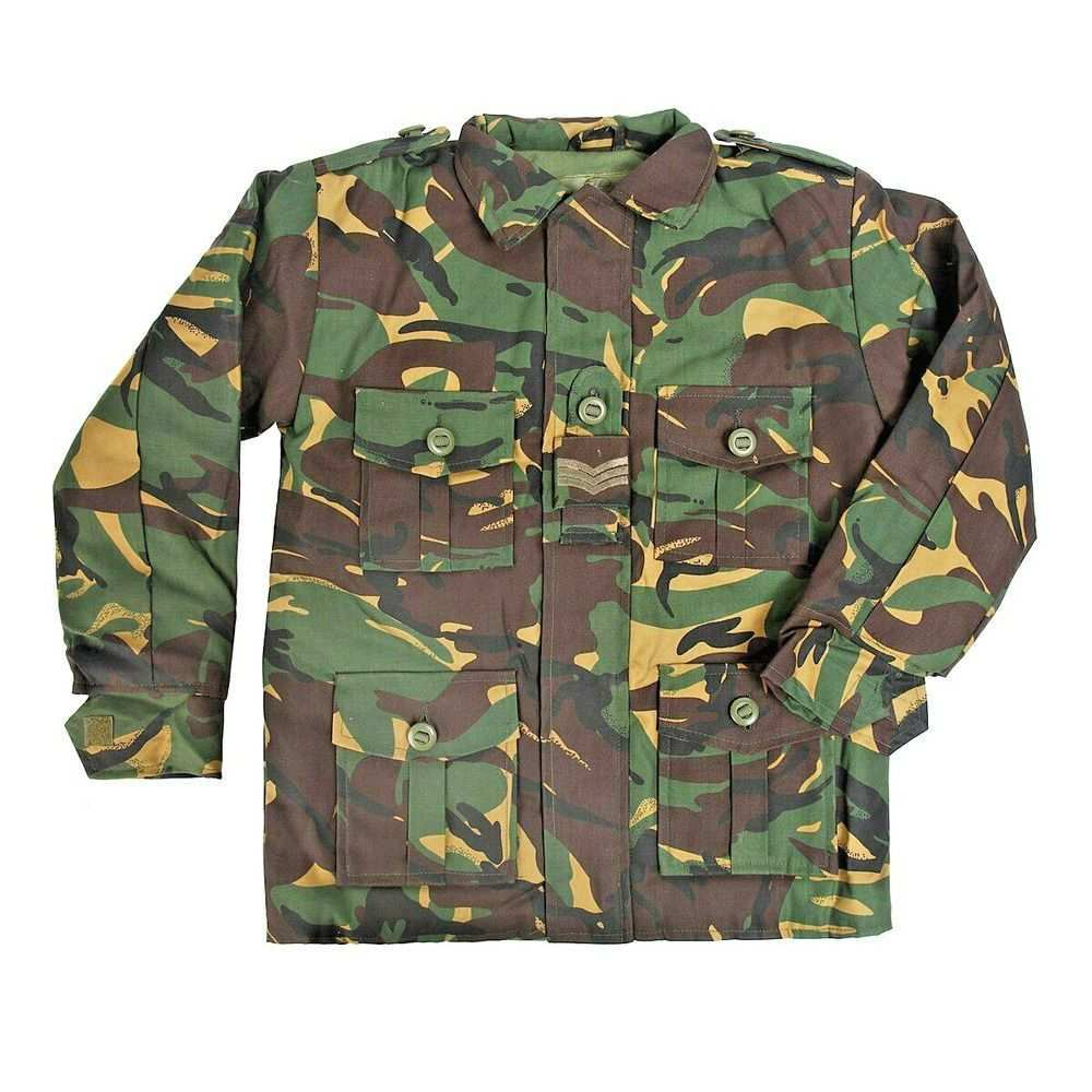 British Army Style Dpm Camo Camouflage Childs Children S Combat Jacket Jac041 Highlander Combat Jacket Kids Army Army Camouflage