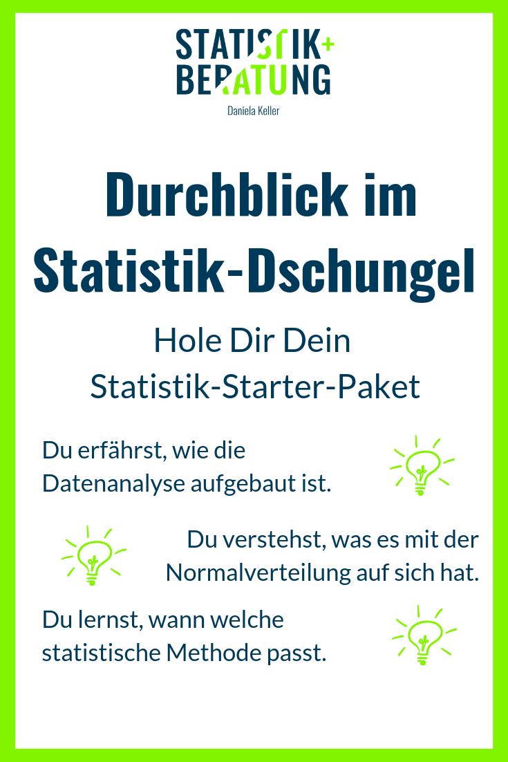 Willst Du Endlich Durch Die Statistik Durchblicken Willst Du Wissen Wie Die Datenanalyse Aufgebaut Ist W Statistik Normalverteilung Wissenschaftliche Arbeit