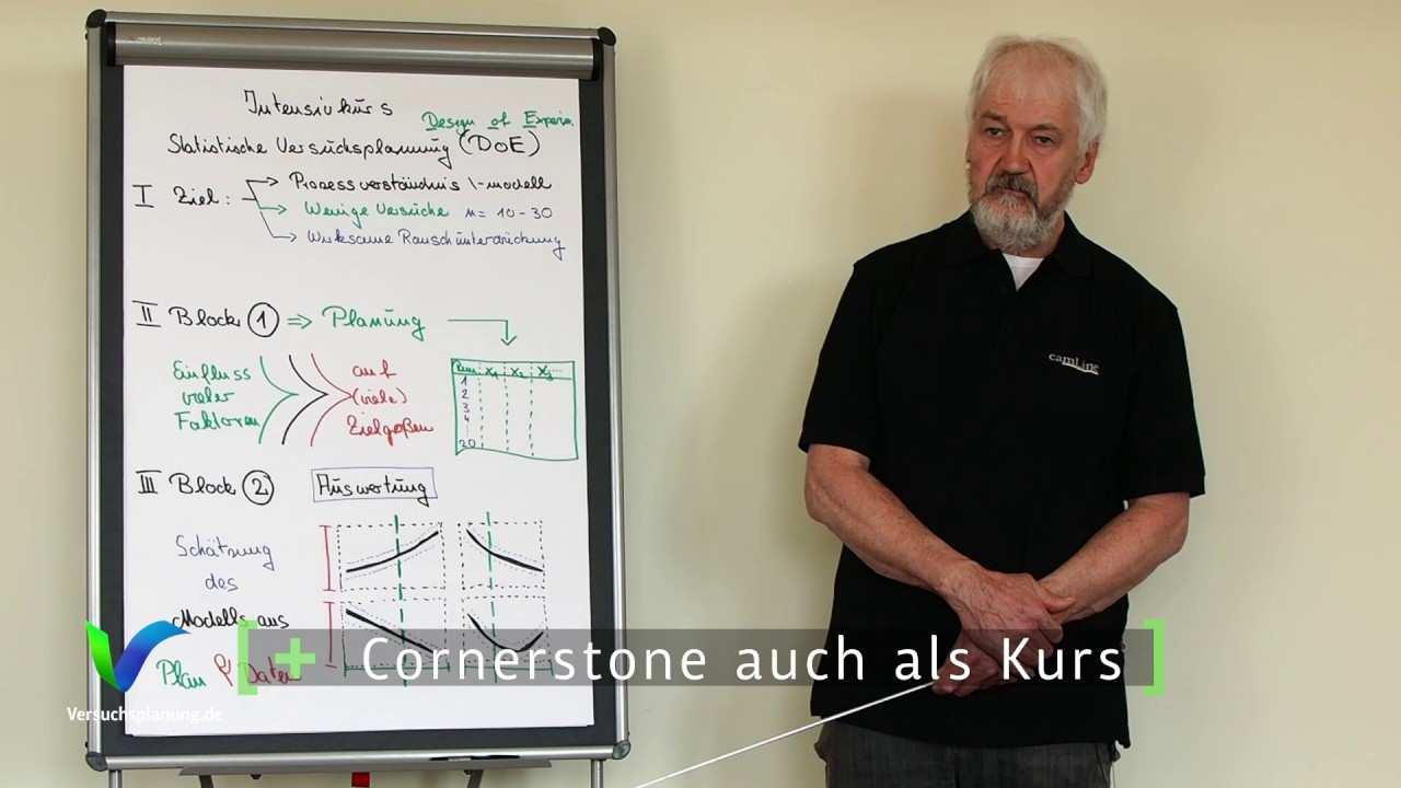 Training Versuchsplanung Doe Video In German Youtube