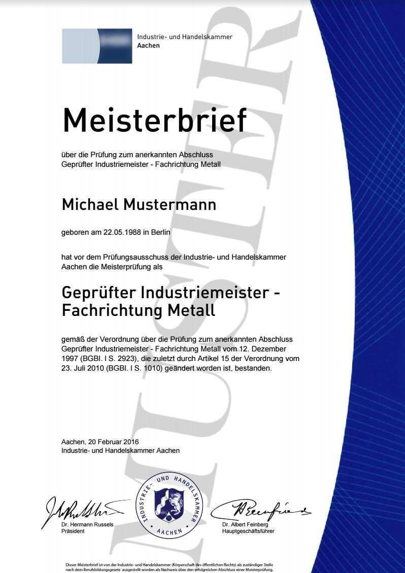 Ihk Meister Urkunde Kaufen Maisterbrief Kaufen Meistertitel Kaufen Meister Urkunde Master Degree Meisterbriefe Downloa Meisterbrief Gesellenbrief Zeugnis