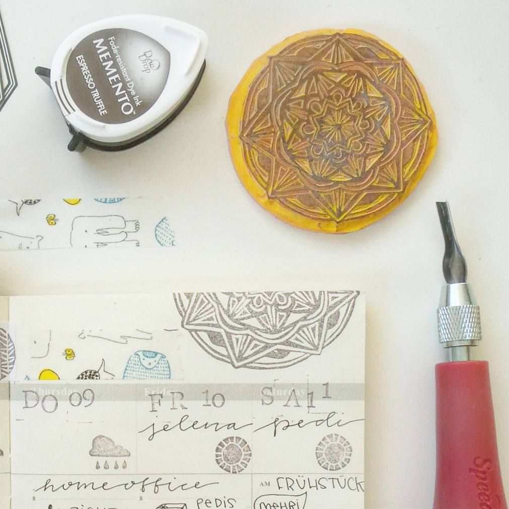 Yoojin Paperpilea Auf Instagram Stempel Stempel Selber Machen Stempel Schnitzen Stempel Diy Stamp Carving Stamp Carving Ideas White Out Tape White Out