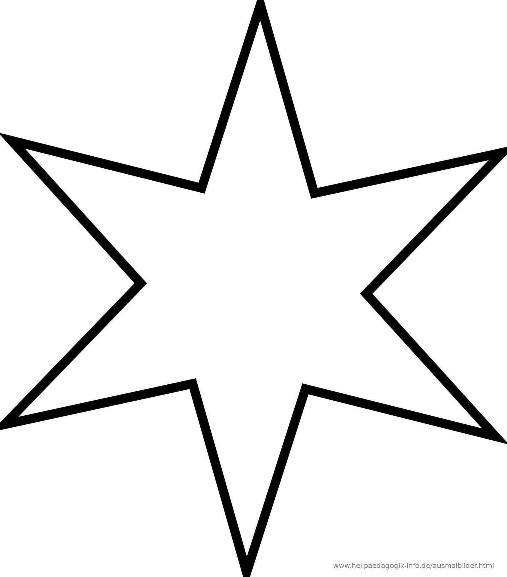 Pin Von Printable Coloring Pages Auf Malvorlagen Sterne Zum Ausdrucken Malvorlage Stern Vorlage Stern