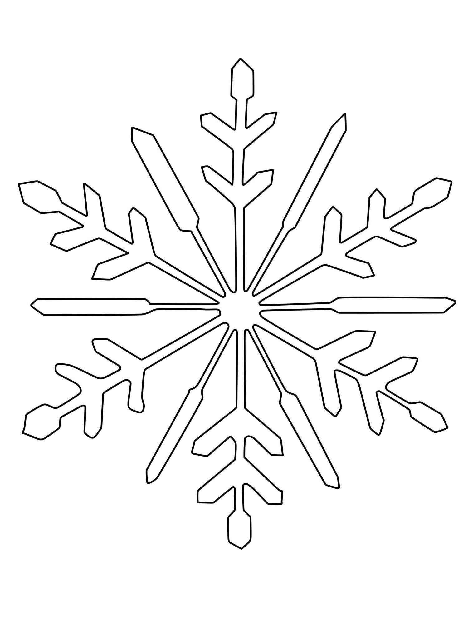 Schneeflockchen Weissrockchen Wann Kommst Du Geschneit Malen Sie Mit Ihrem Kind An Kalten W Schneeflocke Schablone Schneeflocke Vorlage Schneeflocken Basteln