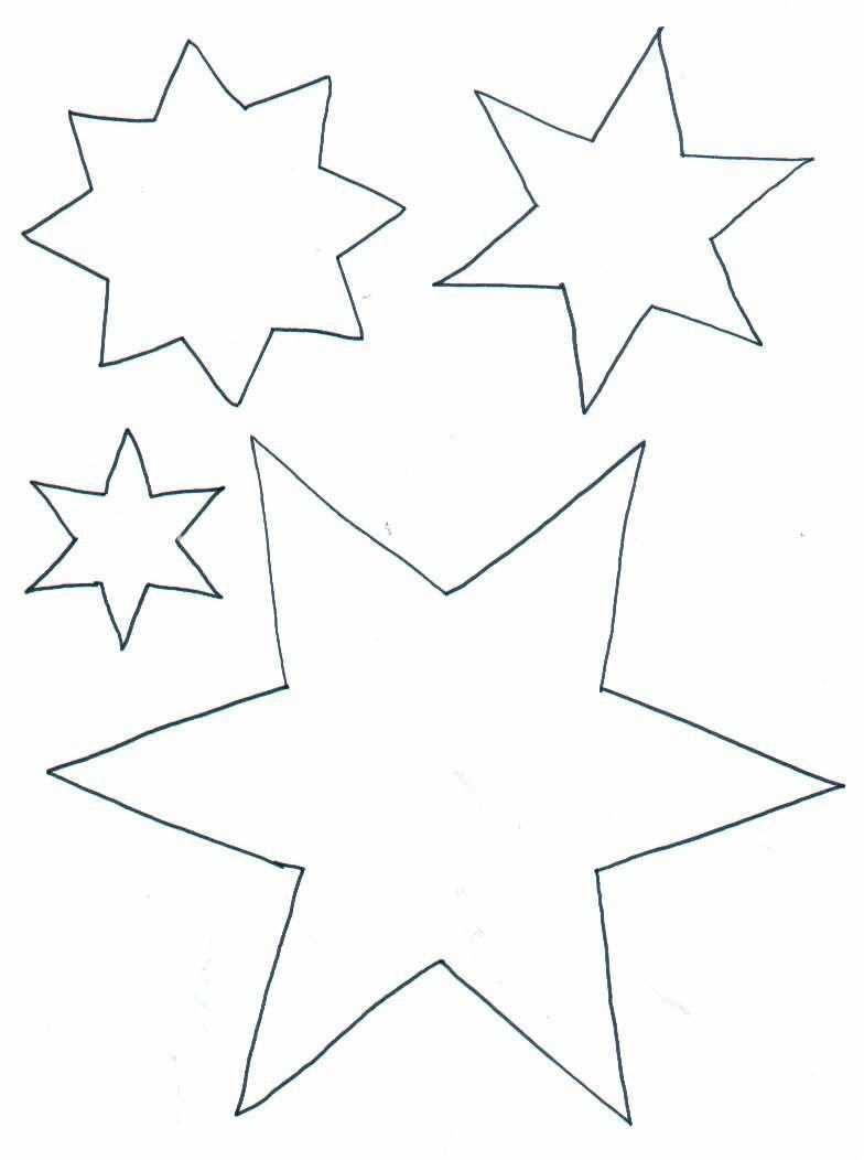 Sterne Zum Ausmalen Weihnachten Basteln Vorlagen Sterne Zum Ausdrucken Vorlage Stern