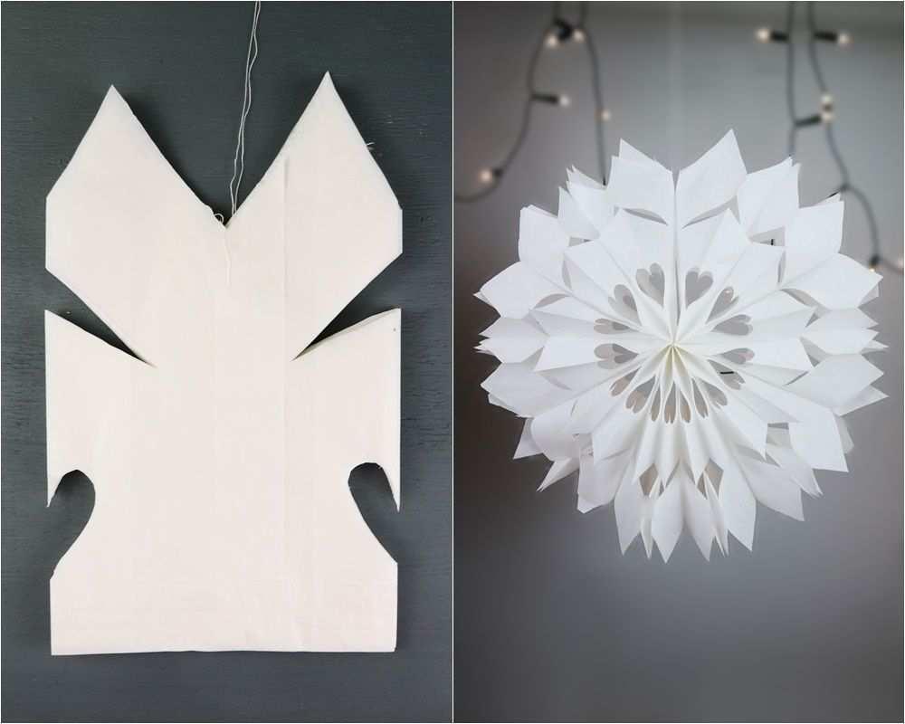 4 Turchen Diy Dezember Zauberhafte Sterne Aus Brottuten Basteln Basteln Weihnachten Papier Brottuten Sterne Weihnachtsdeko Selber Basteln