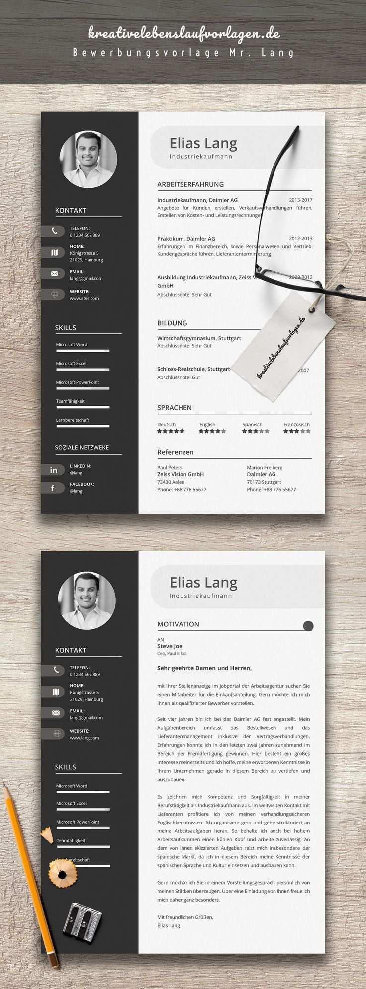 Mannlicher Mensch Weit Graphic Drawing Creative Cv Template Identity Design Logo Resume Templates