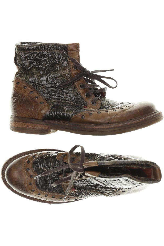 Airstep Stiefelette Damen Ankle Boots Booties Gr De 39 Leder Braun 19737d1 Ebay