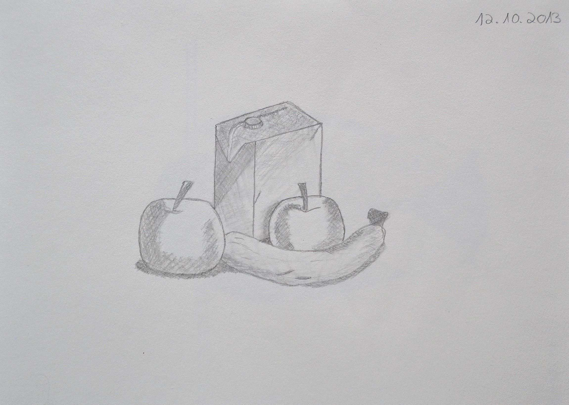 Pen Drawing Sketch Sketch Beginner Still Life Fruit Learn To Paint Zeichnung Stillleben Bleistiftzeichnungen