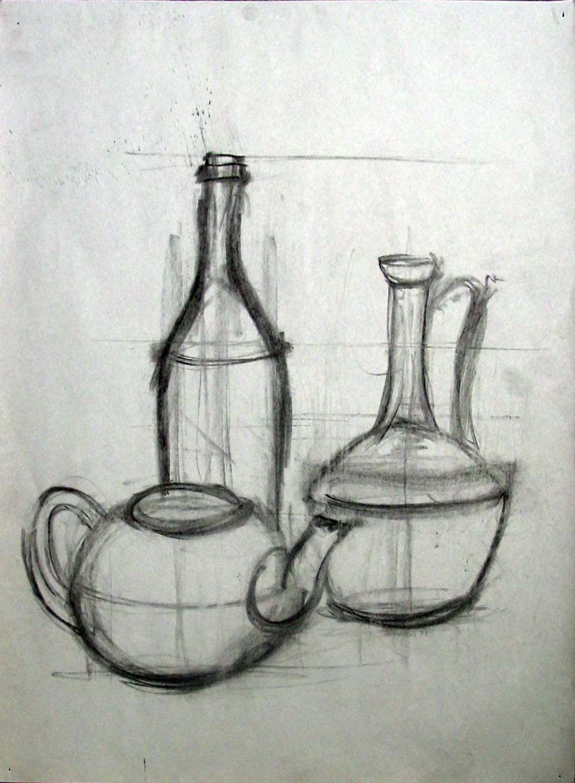 Art7a Beginning Drawing And Composition With William Smith Proportions In 2020 Nature Art Drawings Still Life Sketch Still Life Pencil Shading