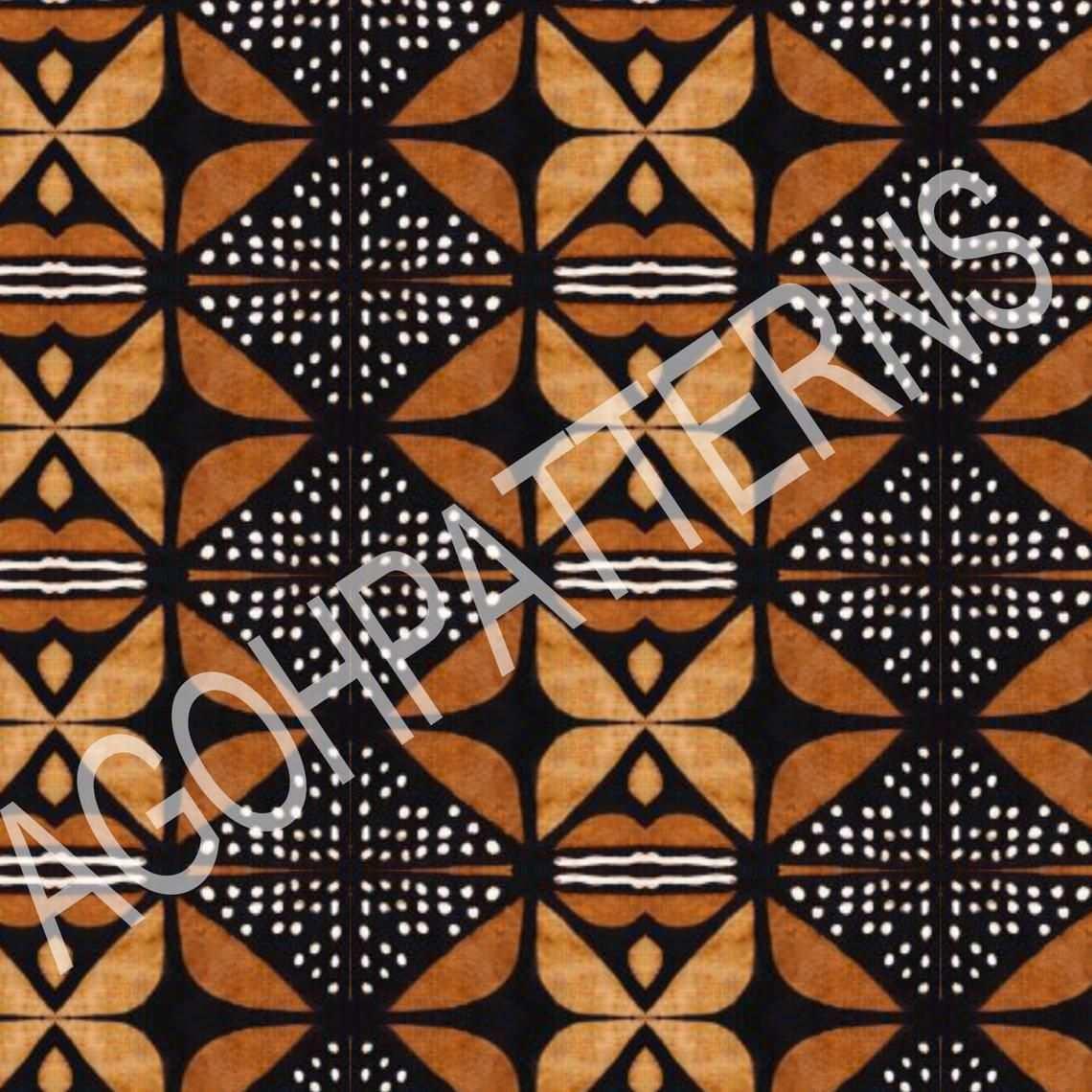 stoff afrikanisches muster