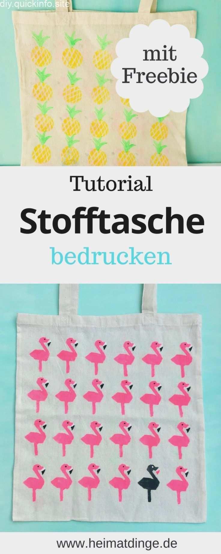 Stofftasche Bemalen Stoff Mit Sommermotiven Bedrucken Diy Prints Diy Fabric Fabric Painting