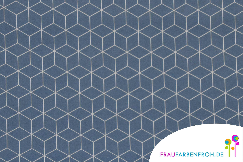 Baumwollstoff Als Meterware Mit Grafischen Mustern Toller Hautfreundlicher Stoff Aus Baumwolle Mit Wurfeln Cube Home Decor Decor Rugs