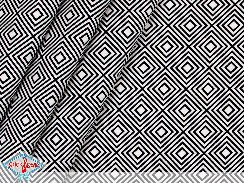 Geometrics Eine Tolle Neue Baumwollstoff Serie Die Den Begriff Quot Basis Stoffe Quot In Neuem Licht Erstrahlen Lasst Das Stoff Stoff Schwarz Weiss Stoffe