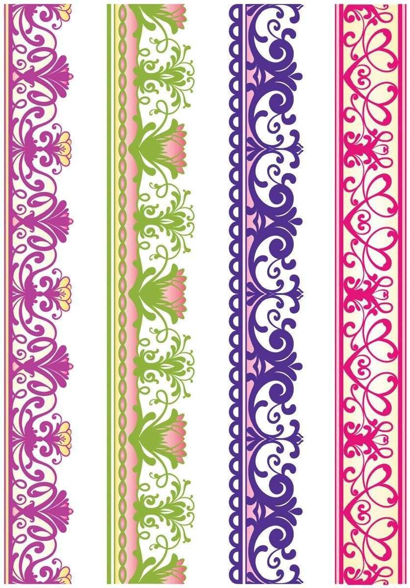 Bordur Orientalische Muster Schablonen Ornamente