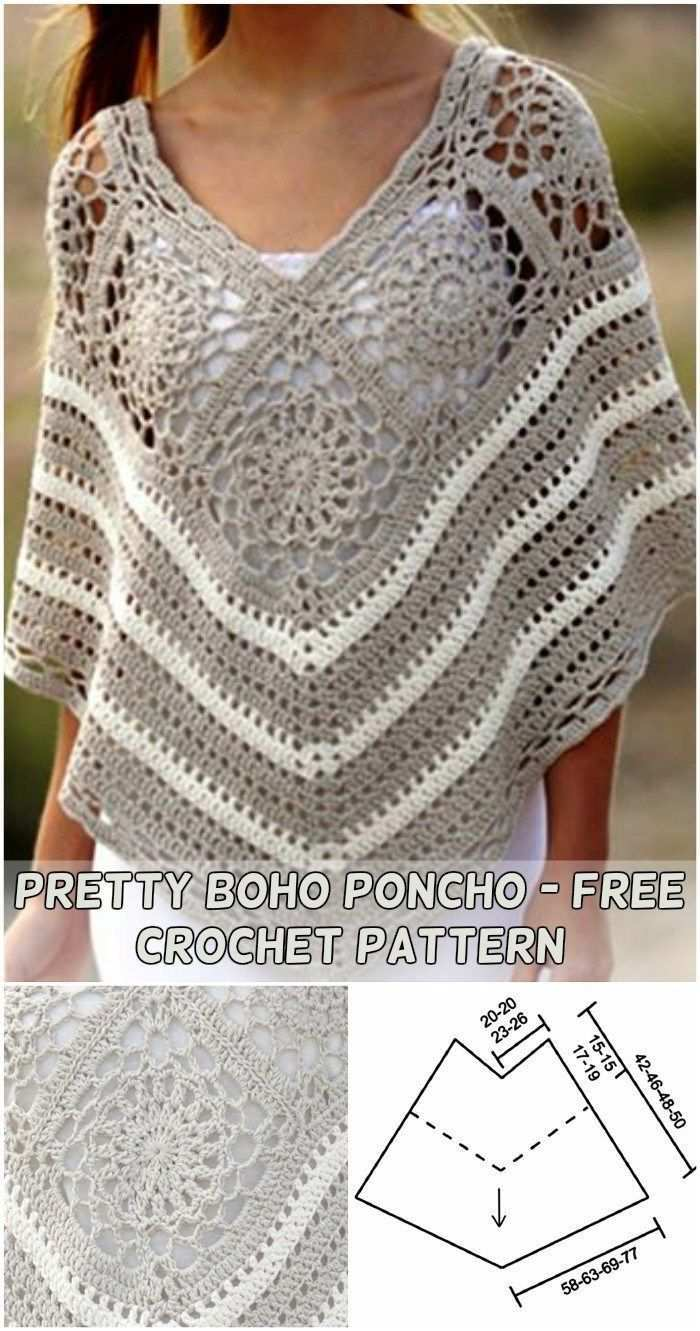35 Amazing Picture Of Free Poncho Crochet Patterns Free Poncho Crochet Patterns Poncho Muster Hakeln Poncho Muster Kleidung Hakeln