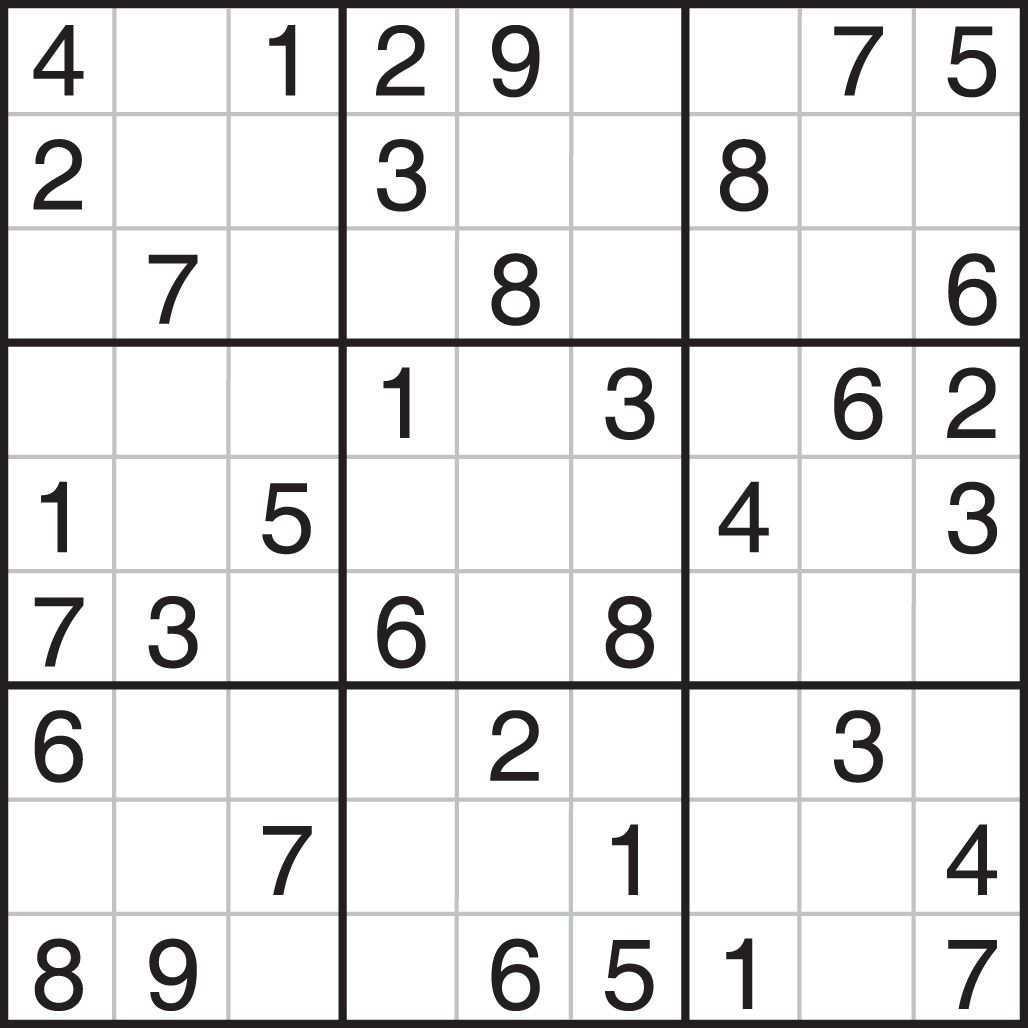 Printable Sudoku Sudoku Printable Sudoku Puzzles Printables Sudoku