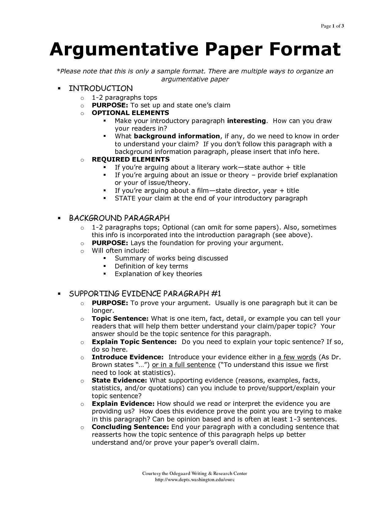 Outline Of Argumentative Essay Sample Google Search My Class Intended For Argumentative Essay Format 8t Expository Essay Essay Writing Essay Writing Skills