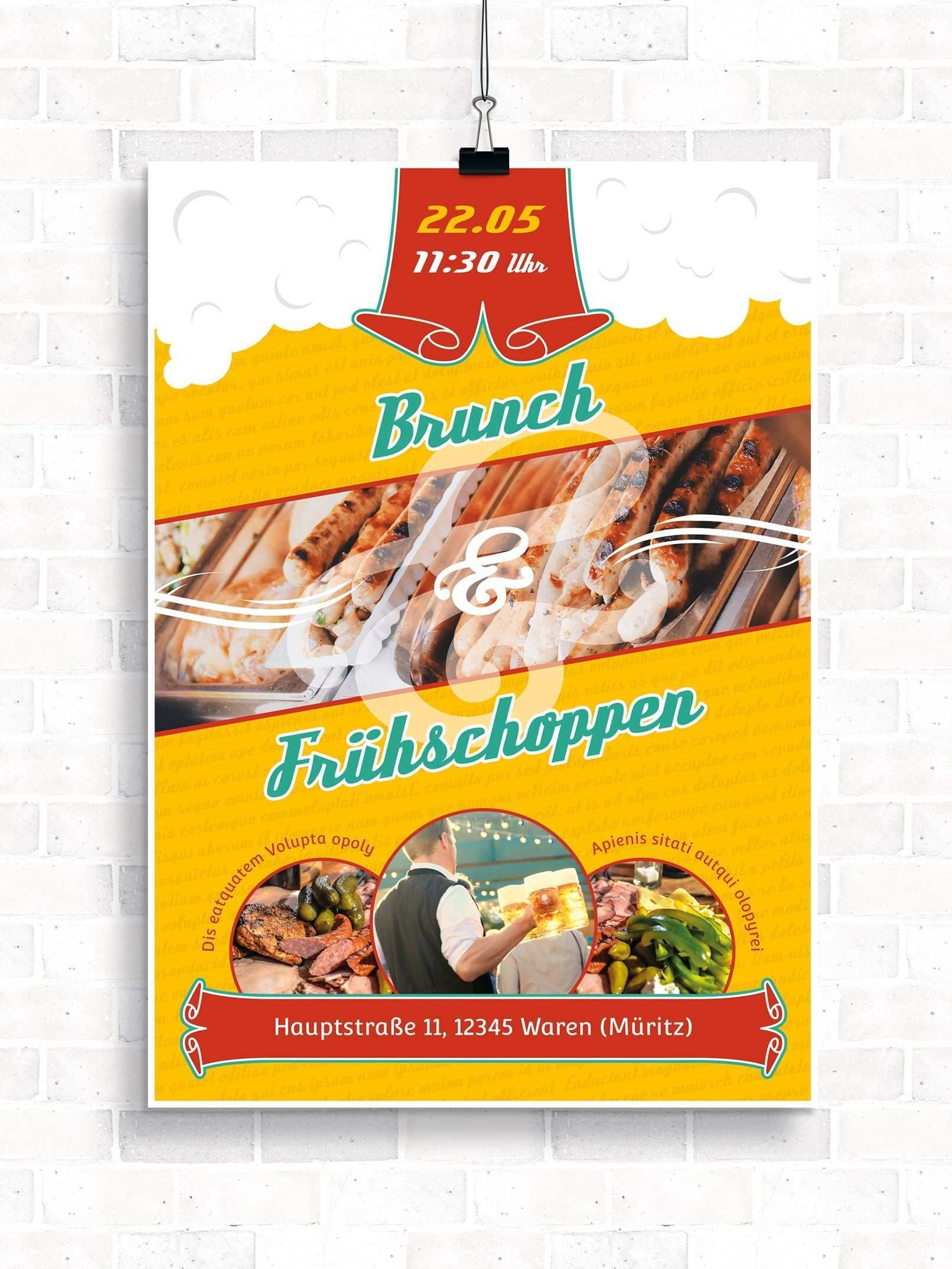 Vorlagen Zu Ostern Osterbrunch Flyer Plakate Flyer Vorlage Flyer Vorlagen