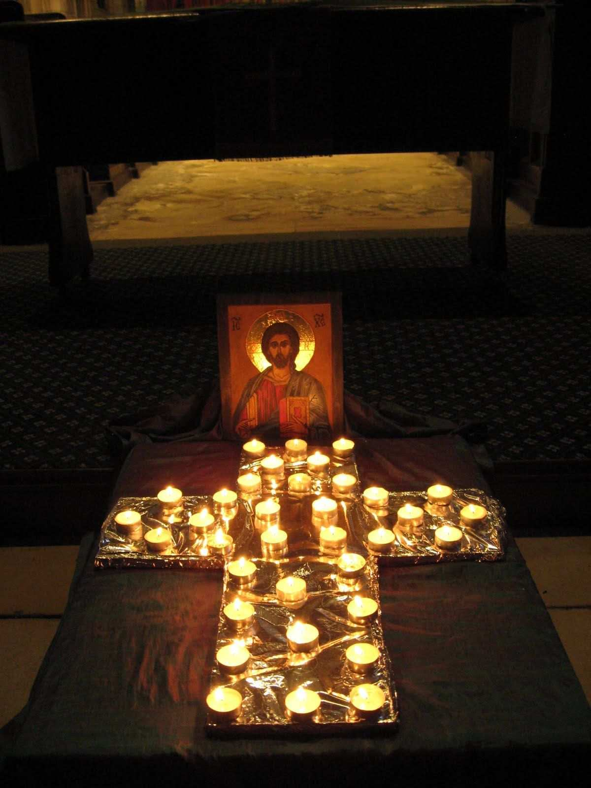 Taize Chapel Decoration Great Idea For Small Spaces
