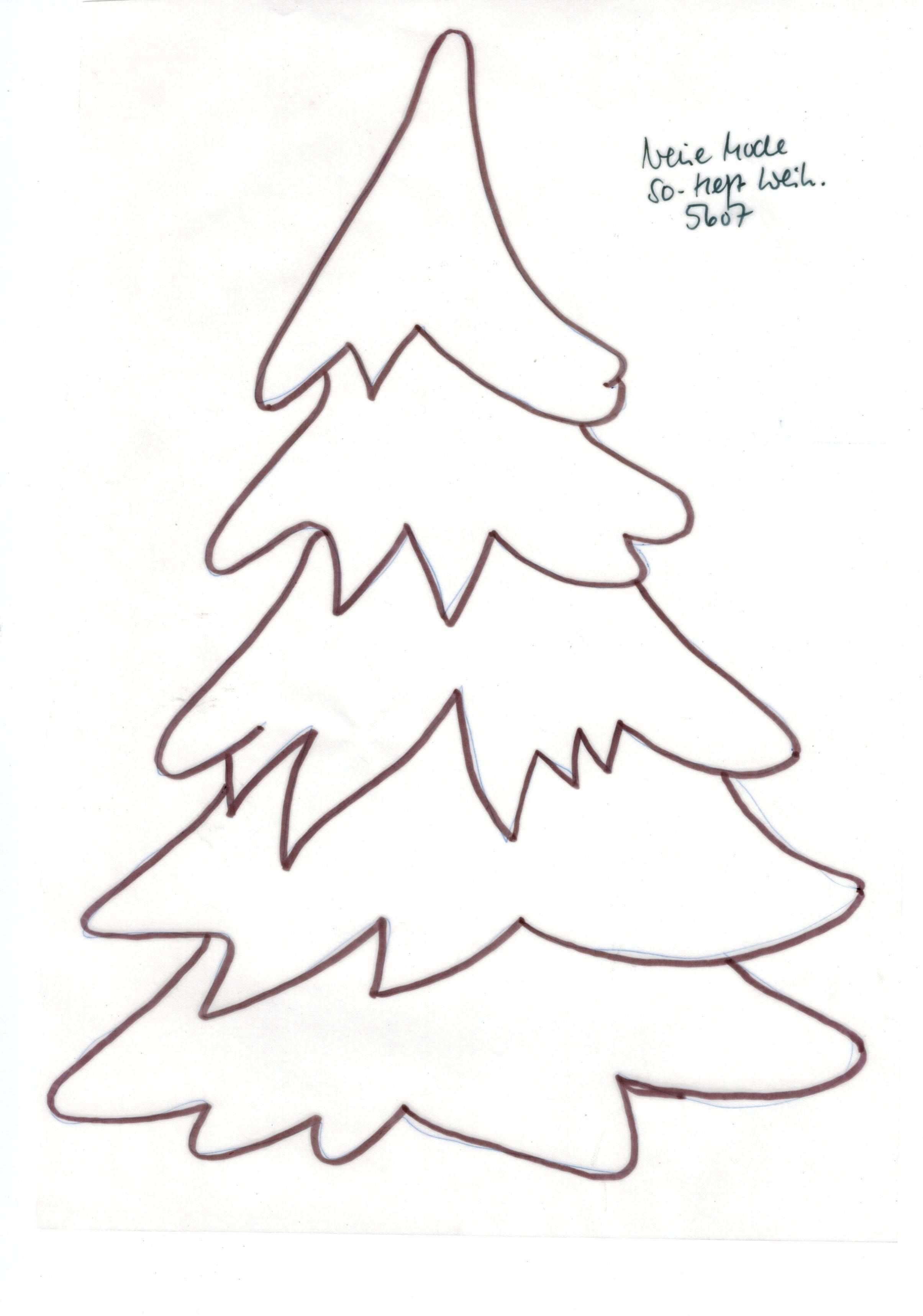 Frisch Druckvorlage Tannenbaum Farbung Malvorlagen Malvorlagenfurkinder Christmas Applique Christmas Tree Pattern Felt Christmas Ornaments