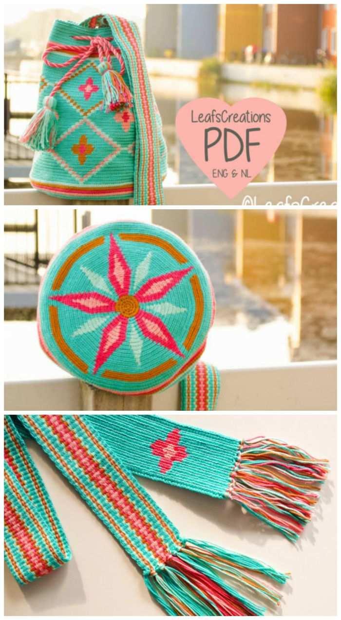 Drawstring Bag Crochet Pattern Tapestry Crochet Bag Pattern Backpack Crochet Pattern Ta Crochet Bag Pattern Tapestry Crochet Patterns Crochet Drawstring Bag