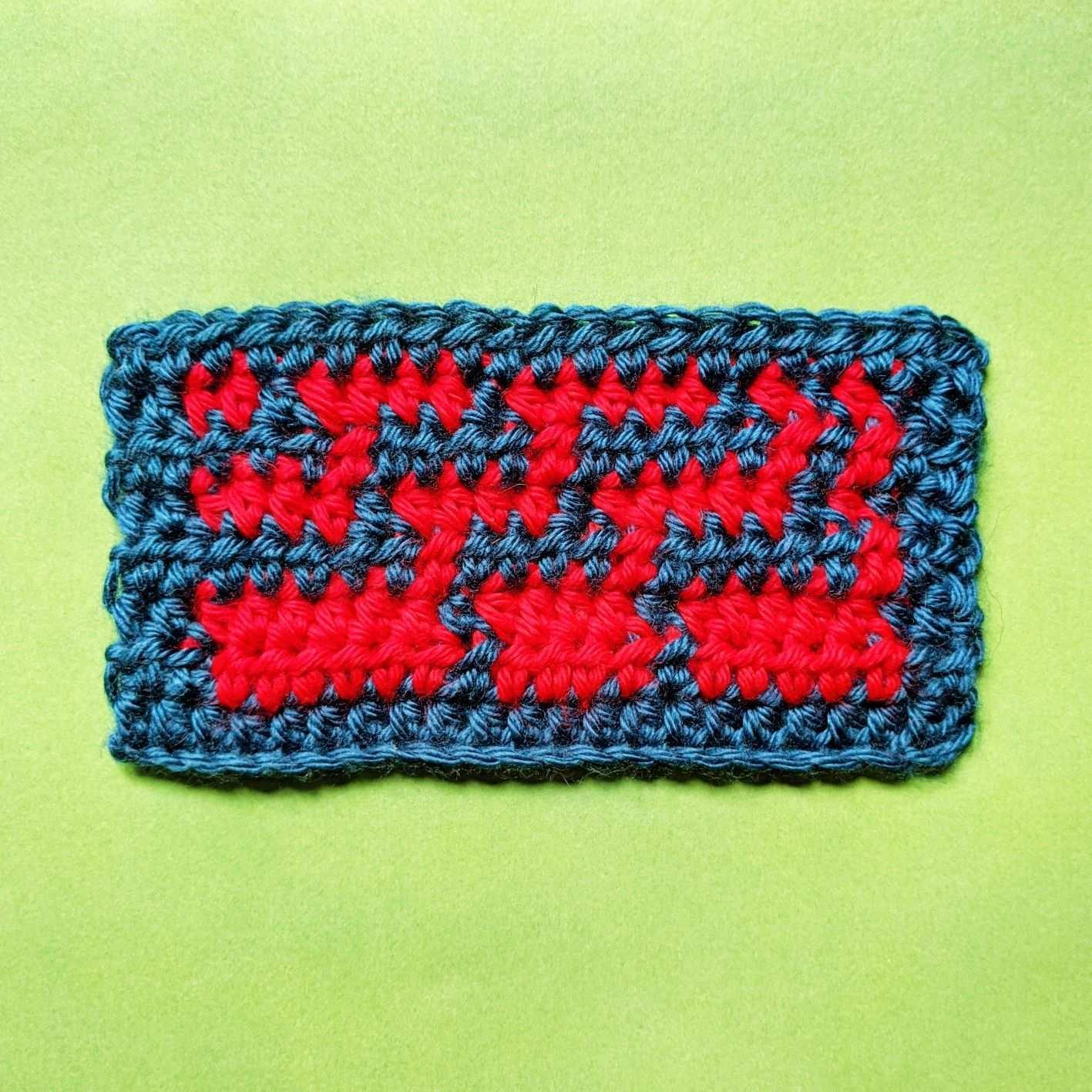 Tapestry Crochet Sample In 2020 Tapestry Crochet Caron Simply Soft Crochet