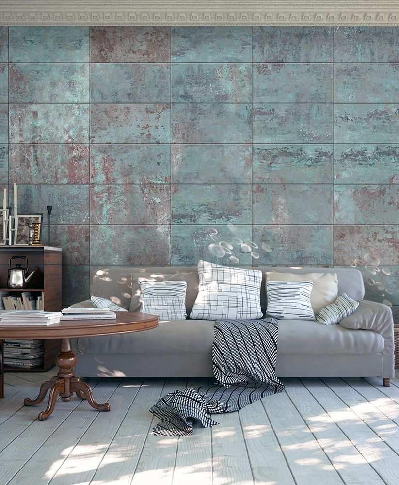 Vliestapete Wandtapete Tapete Magma Tapete Turquoise Concrete Motive Der Tapete Beton Turkis Textur Urban Moder Tapete Betonoptik Tapeten Betonoptik