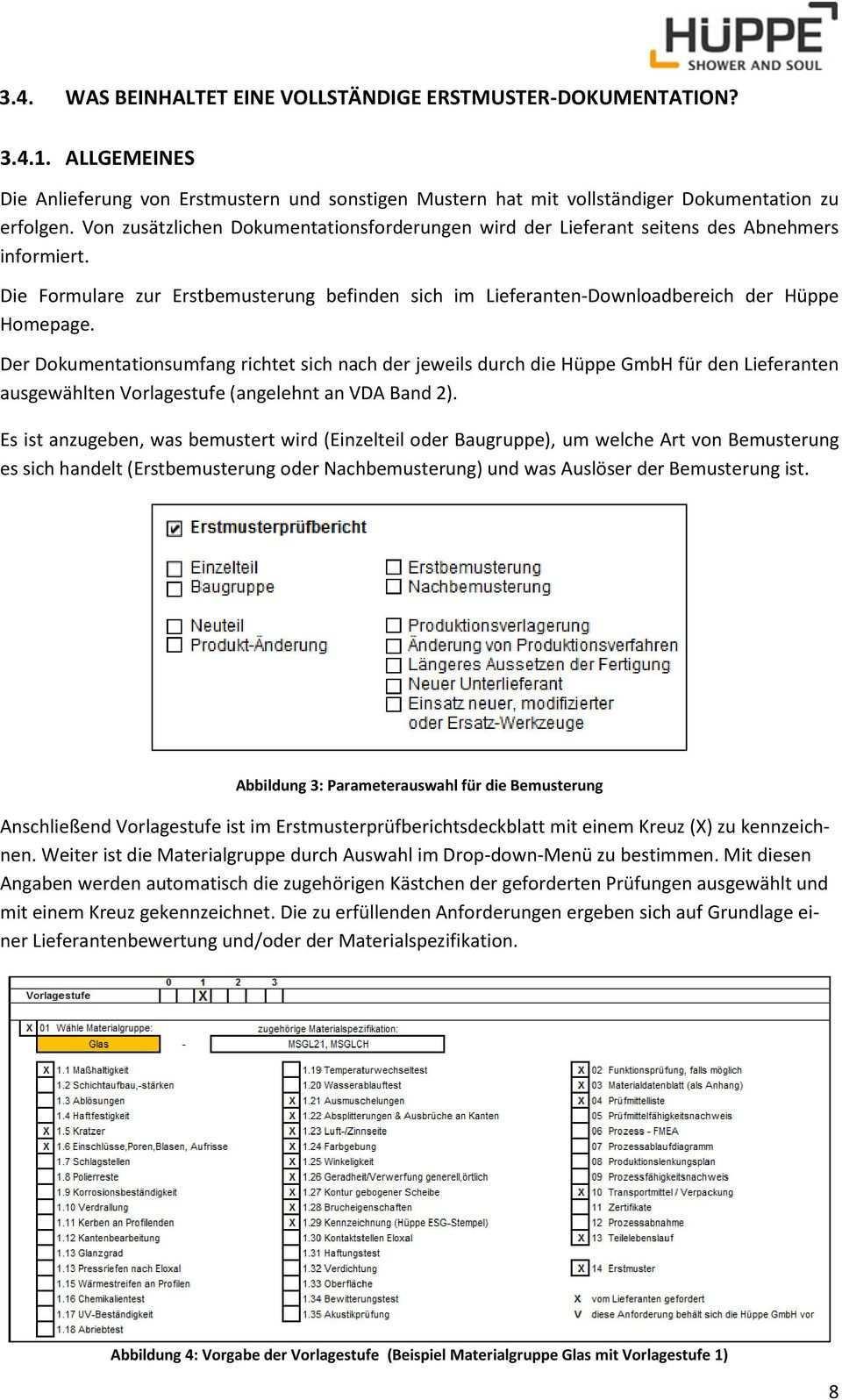 Leitfaden Fur Erstbemusterungen Version 03 Pdf Free Download